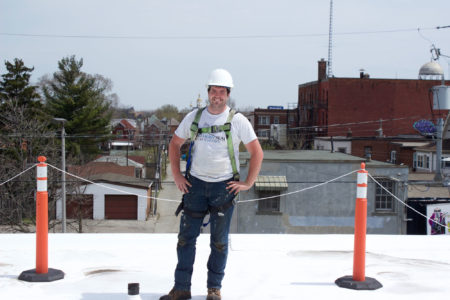 Image of Josh Clement, owner of Northern Seal Roofing